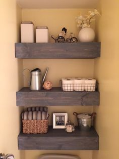 bathroom shelving over the toilet - Google Search