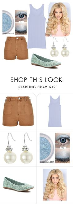 """Loud House: Lori Loud"" by kchest ❤ liked on Polyvore featuring beauty, River Island, Splendid, Lauren Ralph Lauren and Croft & Barrow"