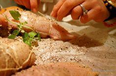 Cook & Celebrate: Sakiewki drobiowe z pysznym nadzieniem z grzybów i...