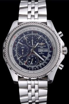 Replica Breitling Bentley GT Racing Blue Dial Stainless Steel Case And Bracelet 622218