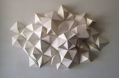 Image result for geometric paper sculpture