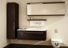 The U Vanity is available at Preston Bathroom + Kitchen Design Centre in Ottawa. Contact or come see us today to learn more. Bathroom Vanity Store, Farmhouse Bathroom Mirrors, Bathroom Basin Taps, Modern Bathroom Mirrors, Master Bathroom Vanity, Modern Bathroom Lighting, Small Space Bathroom, Luxury Master Bathrooms, Beautiful Bathrooms