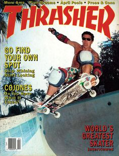 Old School Thrasher's available online. Always liked Thrasher better than Transworld.  My reading material for the next couple weeks.
