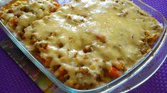 Zapiekanka z mięsa mielonego z kapustą kiszoną Cheeseburger Chowder, Macaroni And Cheese, Soup, Meals, Ethnic Recipes, Mac And Cheese, Meal, Soups, Yemek