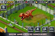 Jurassic Park™ Builder for iPhone 3GS, iPhone 4, iPhone 4S, iPod touch (3rd generation), iPod touch (4th generation) and iPad on the iTunes App Store