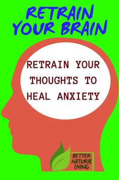 Retrain your brain, retrain your thoughts to heal anxiety. Retrain your mind to relieve stress. Retrain your brain to heal. Anxiety Tips, Anxiety Help, Stress And Anxiety, Social Anxiety, Anxiety Panic Attacks, Removing Negative Energy, Mental Health Journal, Spiritual Meaning