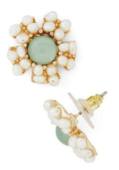Reach for the Moonflower Earring, #ModCloth