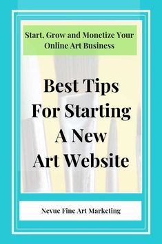 Are you thinking about selling your artwork online? Discover the best tips for starting a new art website so you can start selling more art.
