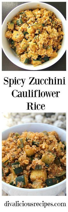 A spicy cauliflower rice dish that is great either as a side or a main. Recipe -… – Rice Recipes A spicy cauliflower rice dish that is great either as a side or a main. Low Carb Recipes, Whole Food Recipes, Vegetarian Recipes, Cooking Recipes, Healthy Recipes, Vegetarian Main Dishes, Zoodle Recipes, Meal Recipes, Cheese Recipes
