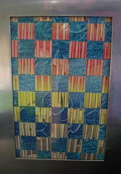 Paste paper mosaïc