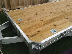 motorbike trailer with removable ramps - Google Search