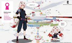 Tribute to anime movie Summerwars ~ created by P-Shinobi