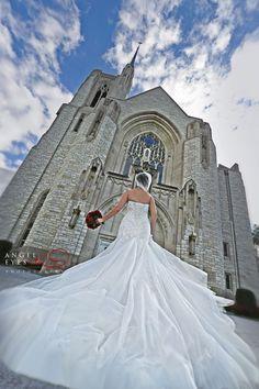 Queen of All Saints Basilica Chicago wedding ceremonies Catholic, Angel Eyes Photography by Hilda Burke
