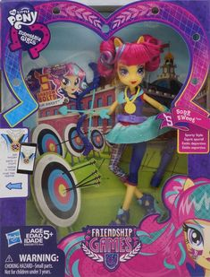 Sour Sweet Friendship Games Sporty Style Deluxe Archery Equestria Girls Doll