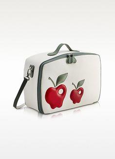Pineider Red Apple Mini Travel Bag