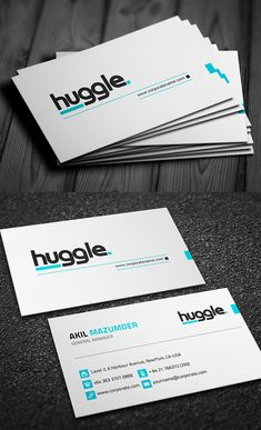 Stylish Professional Business Card #businesscards #branding #psdtemplates