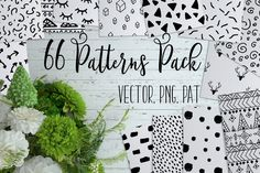 66 Cute Patterns Pack by helga_helga on Envato Elements