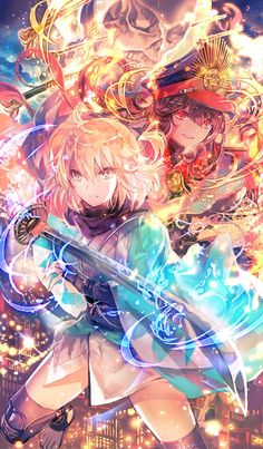 Marvelous Learn To Draw Manga Ideas. Exquisite Learn To Draw Manga Ideas. Fan Art Anime, Anime Art Girl, Manga Girl, Beautiful Anime Girl, Anime Love, Watercolor Card, Anime Krieger, Cool Anime Pictures, Fate Stay Night Anime