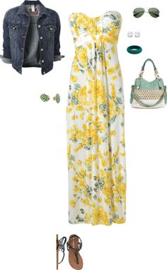 """Summer nights out"" by sidni-schexnayder on Polyvore"