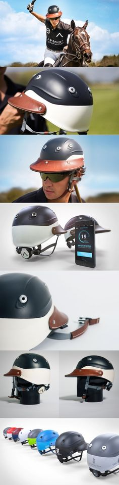 Big heavy mallets, speeding horses, a large wooden ball… what could possibly go wrong? #Polo is much more deadly than it's perceived to be. Luckily the Armis #Helmet is there to #save your noggin from some serious #damage. #YankoDesign #Sports #Polo #Luxury #Living #Style #Fashion