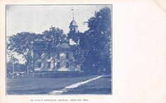 HUNTINGTON, SHELTON, CT ~ ST. PAUL'S EPISCOPAL CHURCH ~ c. 1906