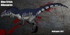 Dino Crisis: Allosaurus by Hellraptor on DeviantArt