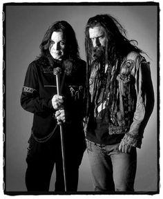 Ozzy Osbourne and Rob Zombie..........