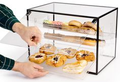 Warehouse Shelving - store inventory by the pallet, create rows to organize your warehouse, and intensify fulfillment mature in the manner of close adherence pallet racking. Bakery Display Case, Pastry Display, Display Cases, Restaurant Kitchen Equipment, Bread Shop, Bakery Box, Dessert In A Jar, Kitchen Necessities, Bakery Business