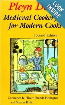 Pleyn Delit: Medieval Cookery for Modern Cooks (one of the top books for SCA cooks, based on reviews by SCA members of medieval cookbooks, especially those without redaction experience)