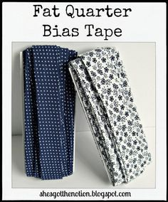 Turn one fat quarter into 5 yards of bias tape (full tutorial) | She's Got the Notion