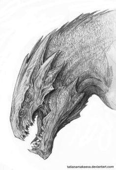 Dragon sketch #2 by TatianaMakeeva