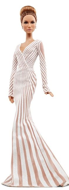 Jennifer Lopez Red Carpet Barbie Doll | The House of Beccaria