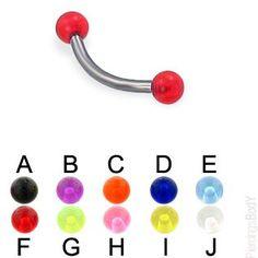 #piercings-body.com       #ring                     #ball #titanium #eyebrow #ring, #Body #Piercings #Jewelry                     UV ball titanium eyebrow ring, 16 ga | Body Piercings Jewelry                                           http://www.seapai.com/product.aspx?PID=72446