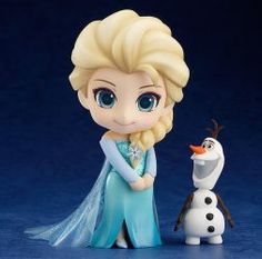 The Frozen Princess is being rereleased yet again! From the hit film 'Frozen' comes a rerelease of the Nendoroid of the Arendelle Royal Family's eldest daughter, Elsa! Anna Disney, Frozen Disney, Frozen Film, Cute Disney, Disney Art, Frozen Frozen, Frozen Anime, Frozen Cake, Fondant Figures