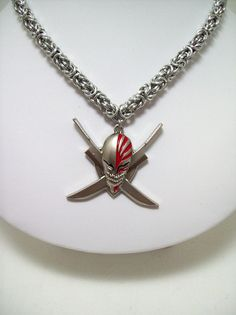 bleach necklace mens necklace Ichigo by Eternalelfcreations, $36.00
