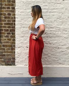 The Rae pants // Named Clothing - Self Assembly Required Named Clothing, Midi Skirt, Take That, Legs, Casual, Skirts, Pants, Clothes, Pattern