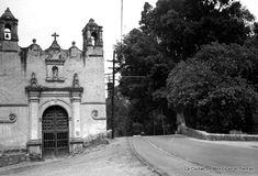 Capilla de San Antonio Panzacola Universidad y Francisco Sosa 50's. La Ciudad de México en el Tiempo | Flickr - Photo Sharing!