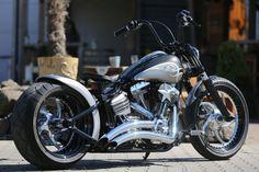 #Thunderbike Silver Rocker (#Harley-Davidson Softail Rocker customized)
