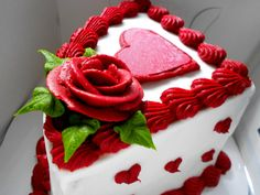 Valentine Heart Cake | latest-2013-Valentines-heart-shaped-cakes-Valentine's-lover's-day-gift ...