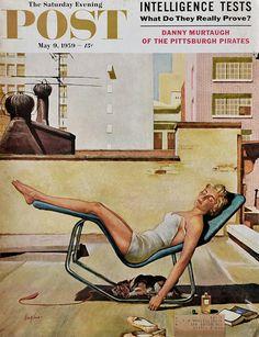 1959 George Hughes art | #RetroReveries