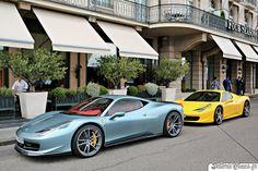 Ferrari 458 Italia Oakley Design & 458 Spider