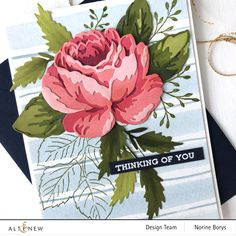 Altenew Cards, Red Sunset, Antique Roses, Watercolor Cards, Flower Cards, Cardmaking, Something To Do, Birthday Cards, Paper Crafts