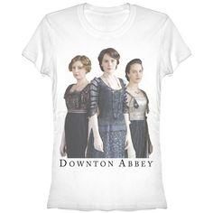 Downton Abbey Junior's - Crawley Ladies T-Shirt #downton #downtonabbey #pbs