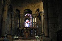 intérieur église de Riom