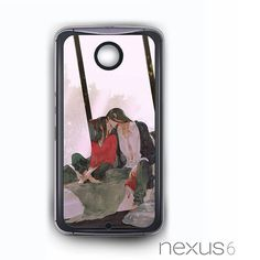 Cool art Kissing for Nexus 4/Nexus 5/Nexus 6 Phonecases