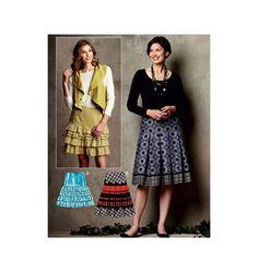 Misses' Skirts - Kwik Sew - K3727
