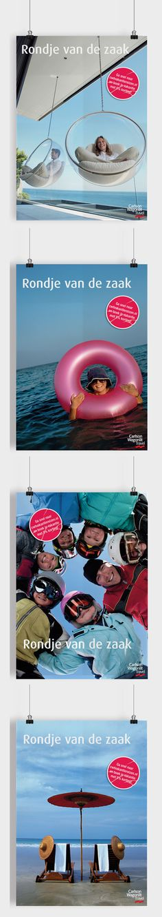 Interne communicatie :: Carlson Wagonlit Travel :: Postercampagne.