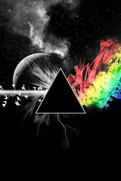 Another great artwork to the 40th anniversary of The Dark Side Of The Moon : 1973 - 2013.
