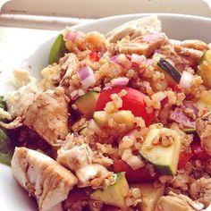 AllyLouise - www.allylouise.com: Colourful Quinoa Salad Recipe - yummo! :)