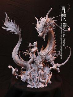 Azure Dragon by pkking1288.deviantart.com on @deviantART